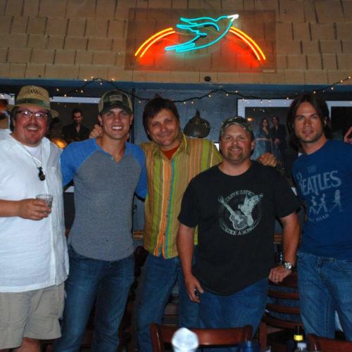 Scott-Dustin-Heino-Jeff at Bluebird
